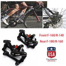 Bike Bicycle Mechanical Front Rear Caliper Disc Brake MTB Permanent Brake Clamp