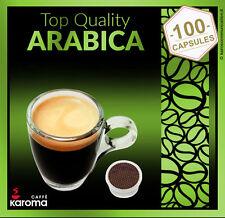 100 Capsules Compatible W/Lavazza Espresso Point Pods.Top Quality Arabica! 10/18
