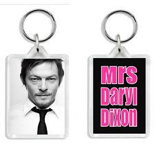 Mrs Daryl Dixon / Mrs Norman Reedus (Walking Dead) Keyring *Great Gift!*