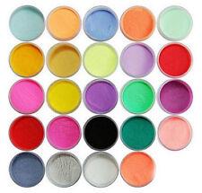 Superior Durable 24Color Acrylic Powder Dust Carving Pigment Nail Art Decoration