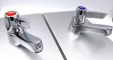 SANDRINGHAM 21 BASIN LEVER TAPS PAIR B 9881 AA ARMITAGE SHANKS FREE DELIVERY