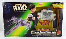 Vintage Star Wars Power of The Force Electronic X-Wing Flight Simulator Kenner