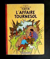 """Edition B26 1959 Tintin """"l'affaire Tournesol""""  par Hergé"""