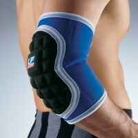 LP 761 Elbow Pad Support Sport Brace Wrap Padded Guard Arm Strap Injury MMA BK