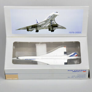 1:400 Scale Air France 1976-2003 Concorde Diecast Aircraft Plane Model Toys Gift