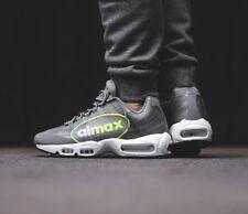8be737a9c3d Nike Air Max 95 NS GPX Big LOGO Grey VOLT Neon AJ7183 001 Men s 13 Running