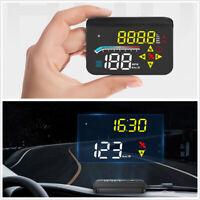 3.5In Car OBD2+GPS HUD Head Up Display Windshield Digital Projector Speedometer