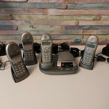 BT Freestyle 2500 QUAD Cordless Phones With Answer Machine VGC