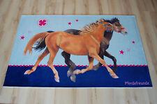 enfants Tapis de jeu amateurs de chevaux 140x200 cm pf-511 PONEY / CHEVAL fille