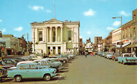 R291453 The Town Hall. St. Albans. PT9229. Postcard. Cars. Vehicles