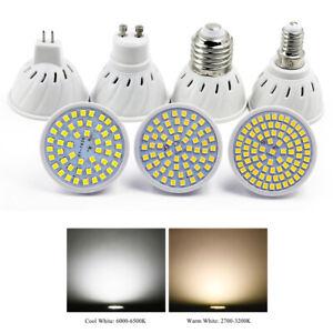 10PCS E14 GU10 MR16 E27 LED Bulb 5W 8W 10W Downlight Lamp 220V 2835 Spotlight
