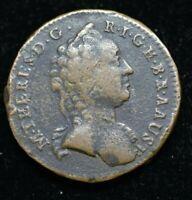 1760 W AUSTRIA MARTHA THERESA 1 KREUZER - LARGE COIN 26mm - GREAT COIN