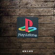 PlayStation Logo Embroidered Patch Iron on Sew On Badge