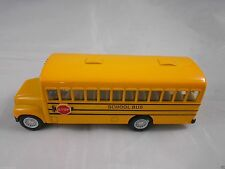 School Yellow Bus Minibus Miniature Diecast Model Collectible Transportation