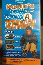 Harry Enfield presents Kevin's Guide to Being a Teenager VHS TAPE (comedy) rare