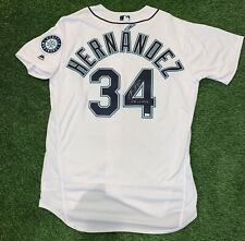 "Felix Hernandez Seattle Mariners Signed Authentic Jersey ""Perfect Game"" MLB Auth"