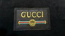Patch Gucci Quadrata Black New Luxury Da Termosaldabile lusso