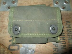 WWII WW2 M1942 M42 PRISMATIC COMPASS BELT POUCH FOR MAP CASE BAG