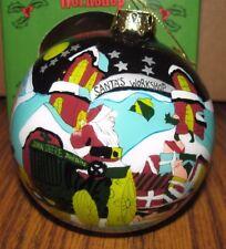 *John Deere Tractor & Sleigh 1999 Christmas Ornament Santa's Helper 1st Series