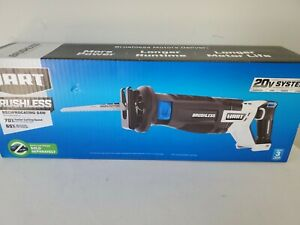HART Reciprocating Saw Variable Speed Trigger Adjustable 20V Brushless Tool Only