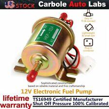 Universal 12V Gas Diesel2.5-4PSI Electric Fuel Pump HEP-02A Inline Low Pressure