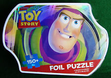 "Toy Story Jigsaw Puzzle Disney Foil 150+ Pieces Metal Tin 11 X 14"" Sealed (984)"
