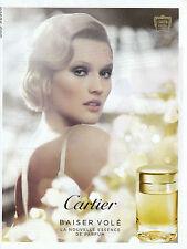 """Publicité Contemporaine """" Parfum Cartier - Baiser Volé  2013 """" ( P. 19 )"""