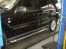 Custom Built Chrysler Jeep Grand Cherokee Side Pipes Exhaust Sports