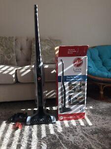 Hoover - Linx Cordless Stick Vacuum - Silver/Black