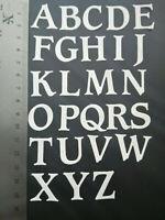 26 piece alphabet die set upper case capitals metal cutting die cutter UK seller