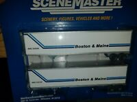 walthers B&M 2 pack of 45' intermodal trailers HO scale