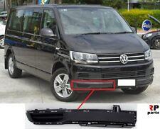 Per VW t5 Multivan Caravelle Griglia Anteriore Front Grill Nero senza emblema 03-09