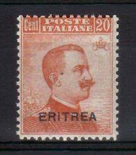 ERITREA 1921 Michetti 20c MNH** (CK)
