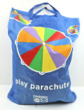 Gymboree Play Parachute 10 Ft Multicolor Handles Carrying Bag & Tag 3+