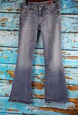 VIGOSS Studio Adriana Flare Stretch Light Blue Denim Jeans Womens Size 30 x 31