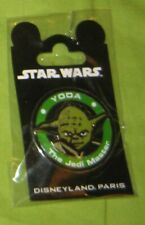 Pins Disney Yoda Star Wars Medaille Disneyland Paris Pins Trading