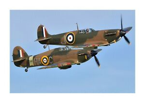 Hawker Hurricane 2 A4 picture poster with choice of frame