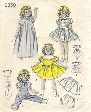"6350 Vintage Slender Doll Pattern - Size 14"" - Year 1959"