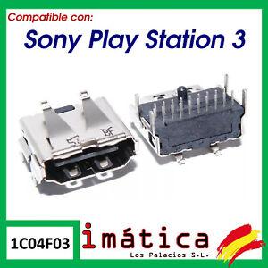 CONECTOR HDMI SONY PLAYSTATION 3 PS3 SLIM CECH-3000 3000 3001 3004 PUERTO 300X
