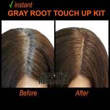 Gray away instant Hair Root Touch up Concealer 7ml Dual Brush DARK BROWN color