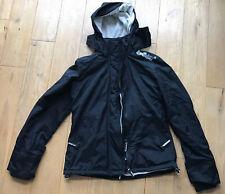 Superdry Windcheater Jacket / Coat - Black and Cream - Size L Large