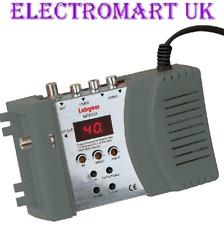 RF MODULATOR RCA PHONO COMPOSITE VIDEO STEREO AUDIO INPUT RF COAX OR F PLUG OUT