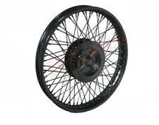 "New 80 Spoke Rear Black Powder Steel Wheel Rim Wm2-19"" Royal Enfield Bullet CAD"