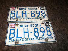 Nova Scotia Canadas Ocean Playground Chrome License Plate Frame