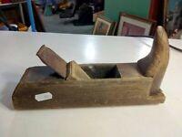 pialla a mano antica in legno 24cm.