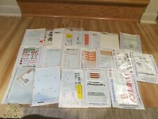 LOT OF 20 HO SCALE DECALS