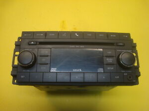 10 11 Dodge Avenger Radio Stereo Audio MP3 CD DVD Player AM/FM 05064949AC