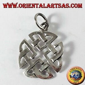 Anhänger Silber, Knoten Keltisch Dell' Lover