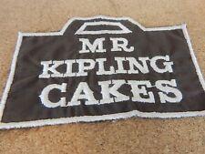 Vintage 1970's Mr Kipling cakes  Advertising patch / Badge