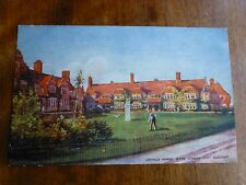 R145 Cottage Homes BATH Street PORT SUNLIGHT Postcard Pictorial